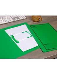 Green Tubeclip File