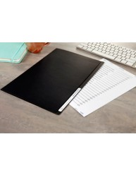 Matt Black Manilla File, Foolscap, 10/Pack