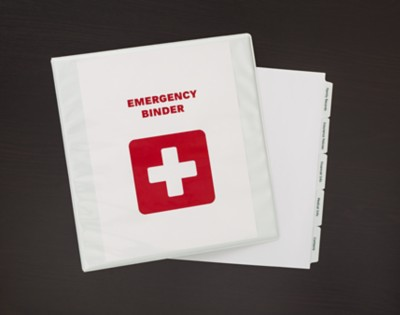 Emergency Binder