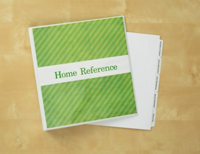 Home Reference Binder