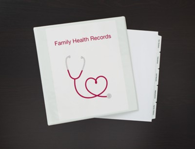 Health Records Binder