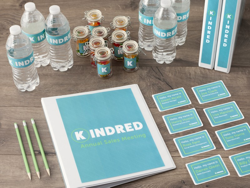 Create meeting materials that are far from boring.