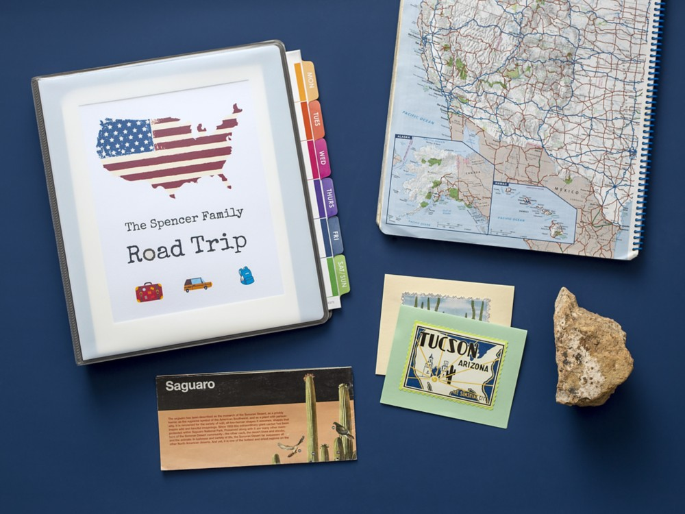 When you need a little peace and quiet in the car, a road trip activity binder can help keep the kiddos busy.