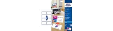 Quick&Clean™ visitkort, glossy, 240g, 85 x 54 mm