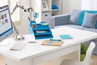 A tidy desk puts you back in control