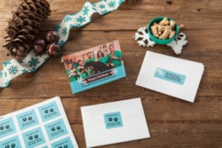 Forget those generic holiday cards. Make it more thoughtful by creating your own! Design it online and let Avery WePrint™ print your cards and labels for you.