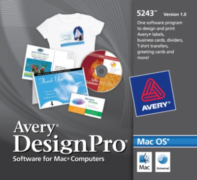How to Open a Saved Template in Avery DesignPro® for Mac®