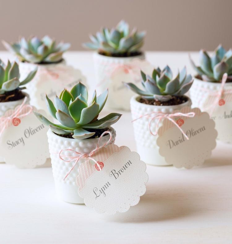 Top Five Wedding Favor Ideas