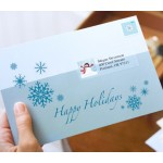 Holiday Mailing with Clear Label