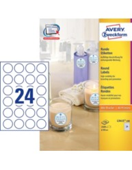 Etiquette produit 40 0 mm l3415 100 avery zweckform for Logiciel merchandising gratuit