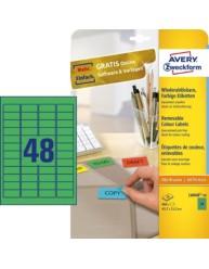 Etiquette mini 45 7 x 21 2 mm l6040 20 avery zweckform for Logiciel merchandising gratuit