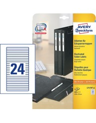 Filing Labels for Elasticated Folders L7170-25