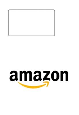 Étiquette intégrée L7983-500 compatible Amazon