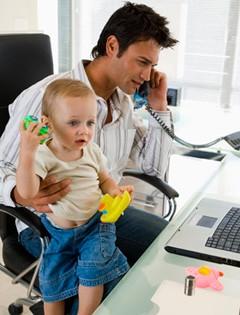 Baby Dad Laptop