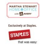 Martha Stewart Home Office with Avery Logo Exclusively at Staples