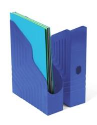 Porte-revues dos de 78 mm - Bleu