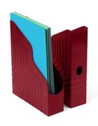 Porte-revues dos de 78 mm - Rouge