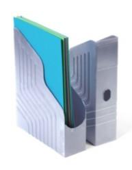 Porte-revues dos de 78 mm - Gris