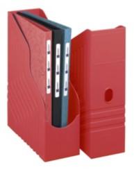 Porte-revues dos de 100 mm - Rouge