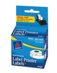 Avery® White Multi-Purpose Labels for Label Printers 4150, Packaging Image