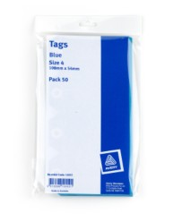 Blue Shipping Tags