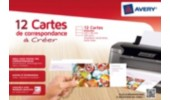 Carte de correspondance, 260 g/m², 99,0 x 210,0 mm