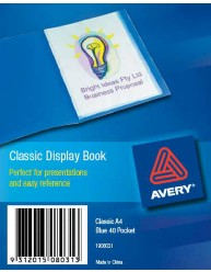 Blue Classic Display Book