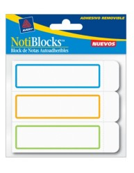 Avery Removable Label Pad 22014 Packaging Image