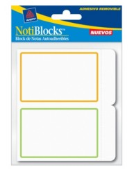 Avery Removable Label Pad 22019 Packaging Image