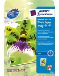 Premium Inkjet Fotopapier, zijdeglans, 250g