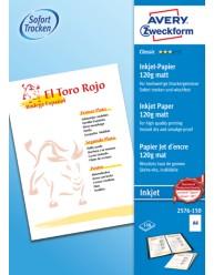 Carta fotografica Classic per stampanti Inkjet , opaca , A4, 120g