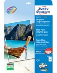 Carta fotografica Superior per stampanti Inkjet, ultra lucida, A3, 200g
