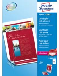 Carta fotografica Superior per stampanti Laser a colori , lucida, A3, 150g