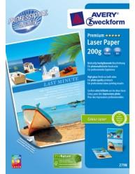 Carta fotografica Premium per stampanti Laser, ultra lucinda, A4, 200g