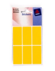 Coloured Labels in Packets