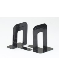 Metal Book Ends Black