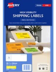 Fluoro Yellow Signalling Labels