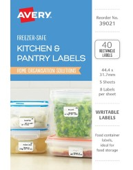 Kitchen Pantry Labels 39021