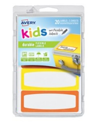 41412 - Kids Writeable Labels