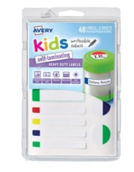 41433 - Self-Laminating Kids Labels