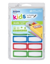 41441 - Kids Writeable Labels