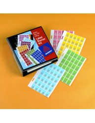 Top Tab Complete Colour Code Labels Starter Kit