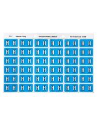 Alphabetical 'H' Side Tab Colour Coding Labels