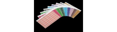 Month 'Jan' Coding Labels, 23 x 38 mm, 180/Pack