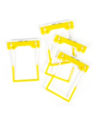 Yellow Tubeclip File Fastener