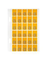 Top Tab Colour Code Labels 'C'