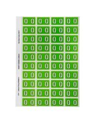 Alphabetical 'Q' Side Tab Colour Coding Labels