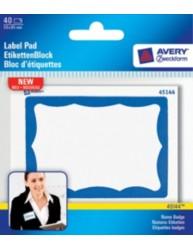 Etiquette pour badges papier 59 0 x 85 0 mm 45144 for Logiciel merchandising gratuit