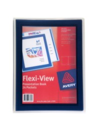 Blue Flexi-View Presentation Book
