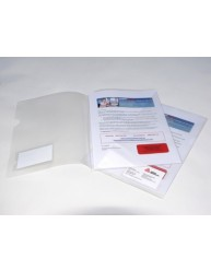 Clear Polypropylene Submission File, 5/Pack